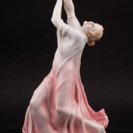 Фарфоровая статуэтка танцовщицы Айседора Дункан, Karl Ens, Германия, 1920-30 гг.