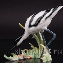 Фарфоровая статуэтка птицы Шилоклювка, Goebel, Германия, до 1990 г.